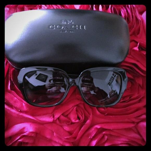 118a68eba Coach Accessories | Zoey Heart Sunglasses | Poshmark